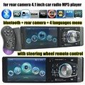 2016 newest 4.1 inch HD mp5 player Auto radio support TF/Rear View camera/ Bluetooth car radio free shipping