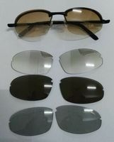 1 Set Vintage Sports Outdoor Men S Driving Cycling Bike Bicycle Sunglasses UV400 Eyewear 4 Lens