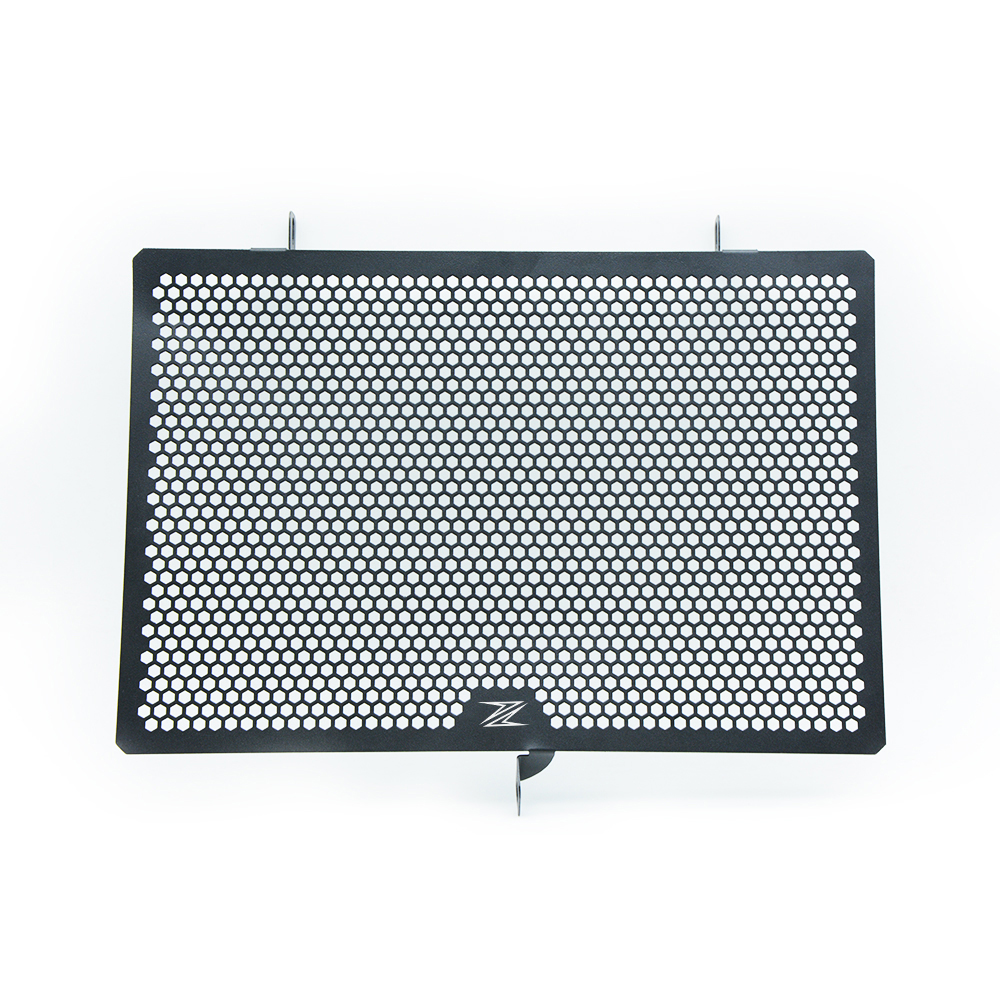 Motorcycle Stainless Steel Radiator Guard Protector Grille Grill Cover For Kawasaki Z800 2013 2014 2015 2016 Z 800 WITH Z LOGO motorcycle arashi radiator grille protective cover grill guard protector for kawasaki z800 2013 2014 2015 2016