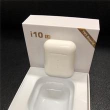 Новые i10 tws беспроводные наушники сенсорные наушники Bluetooth 5,0 гарнитура Поддержка беспроводной зарядки с микрофоном PK i12 i11 i13 i14 Tws
