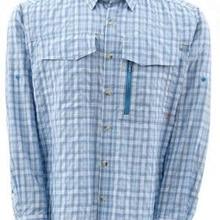 Sim* s Мужская Рыбацкая рубашка с длинным рукавом походные рубашки быстросохнущие UPF30 УФ дышащие уличные рыболовные рубашки для мужчин размер США M-2XL