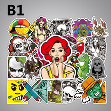 700 kinds style selected 50Pcs Mixed Stickers Luggage Laptop Toys Bike Car Motorcycle Phone Snowboard Cool