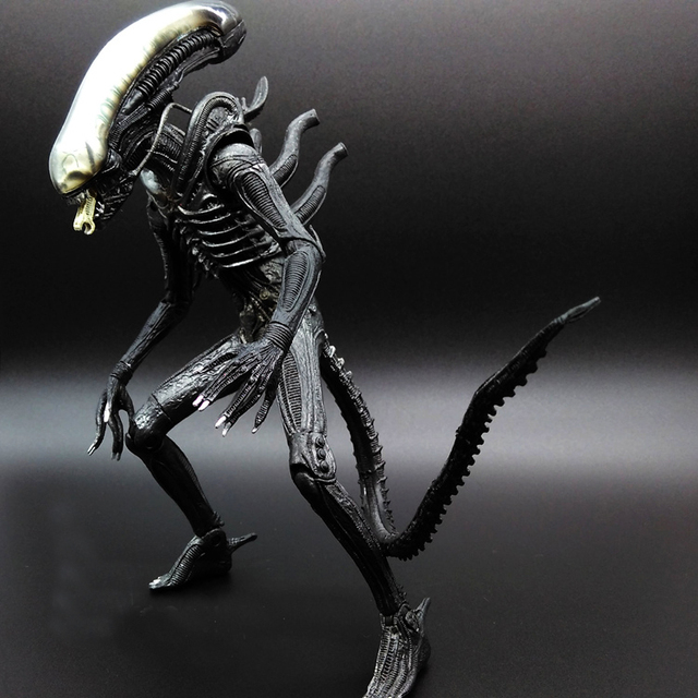 SAINTGI Alien Vs Predator Toy Mixed Human AVP ABS 20cm
