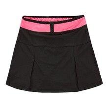 Lanbaosi женские юбки для бега теннис Гольф быстросохнущая Милая плотная мини-юбка размера плюс