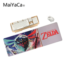 MaiYaCa Selling The Legend of Zelda Eagles Logo Gaming Optical Computer Mouse Mat Mice Pads Soft Silicone Rectangular Mouse Pad