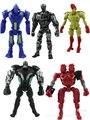 10 Unidades shipiping dhl Real de acero figura de acción 10 - 12 cm PVC juguetes colección modelo juguetes clásicos