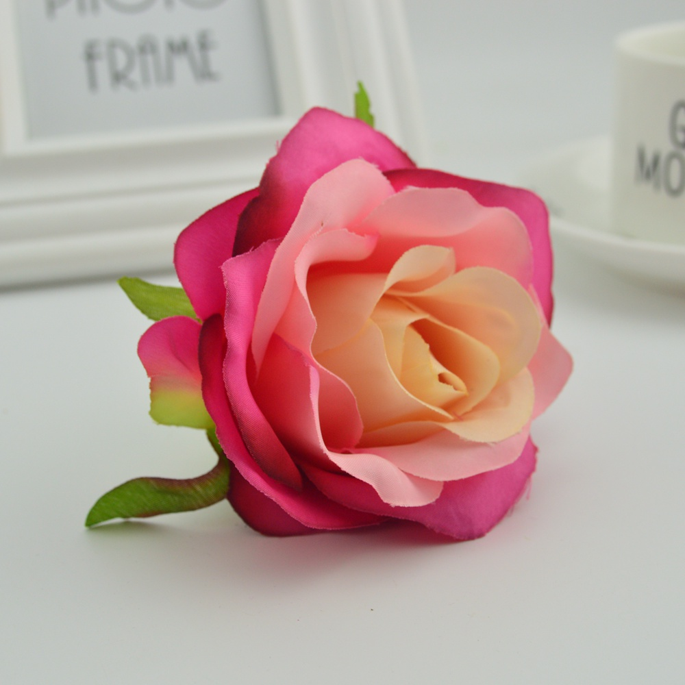 50pcs 7cm Artificial Flowers Cheap For Home Wedding Autumn