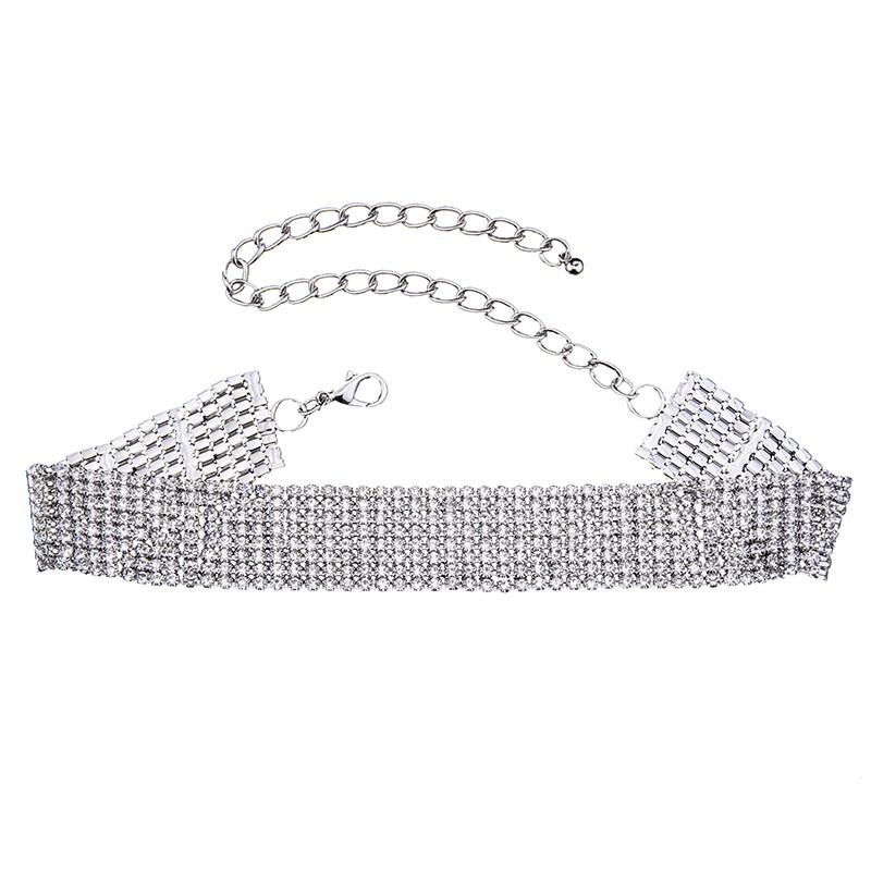 HTB1zgSgOVXXXXXyaFXXq6xXFXXXm Crystal Rhinestone Choker Necklace – Various Styles