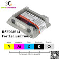 Evolis R5F008S14 YMCKO ribbon cassette 300 prints 5 panels for Zenius Primacy id card printer ribbon
