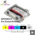 Evolis R5F008S14 casete de cinta YMCKO 300 impresiones de 5 paneles para Primacy Zenius id impresora de tarjetas de cinta