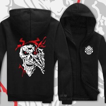 Anime Overlord Ainz Gown Ainz Ooal Gown Design Hoodies for Unisex Zipper Hooded Sweatshirt