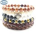 Handmade Jewelry Men Accessories Charm Bracelets DIY Stones lucky Beads Fashion Bracelets & Bangles for Birthday Party gifts