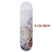SK8ER Canadiense Maple Skateboard Decks 8.125 pulgadas de calidad 8 capas Canadiense Maple Skate Deck para Skateboarding deportes al aire libre