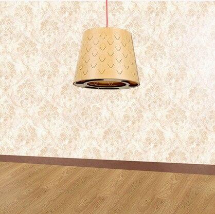 Chinesische Individualität Holz Kunst Kronleuchter Handgemachte Innen E27  Led Lampe Schichtholz Chip Lampe Für Cafe