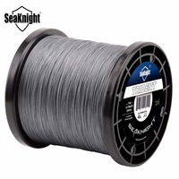 Nunatak TRIDENT 1000 M 1094Yd PE Braided 4 Strands Fishing Line Multifilament Fishing Lines Super Strong Fish Rope