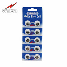 10x SR920SW Silver Oxide 1.55V Battery 31mAh SR920 371 370 SR69 Button Cell Batteries For Watch стоимость