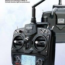 Original Walkera DEVO 7 Transmitter 2.4G LCD Screen Radio Sy
