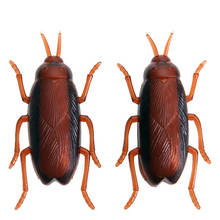 cockroach toys With batteries can move insect plastic toy stuffed strange horror novelty products gadgets cool