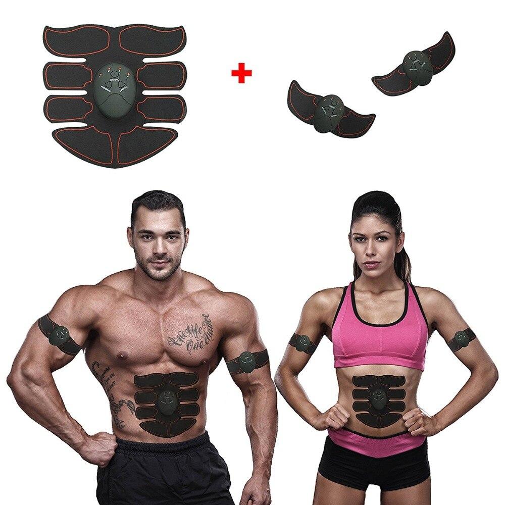 Abdominal músculo entrenador magia EMS muscular entrenamiento ABS simulador entrenador cuerpo casa forma de ejercicio Fitness Equipment
