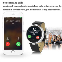 บลูทูธ4.0สมาร์ทรอบนาฬิกาA NdroidและIOS S365 SOS/G-sensor/Siri/ลำโพงสำหรับแอปเปิ้ลiphone 6/6บวกซัมซุงS6/S5 Sony LG HTC