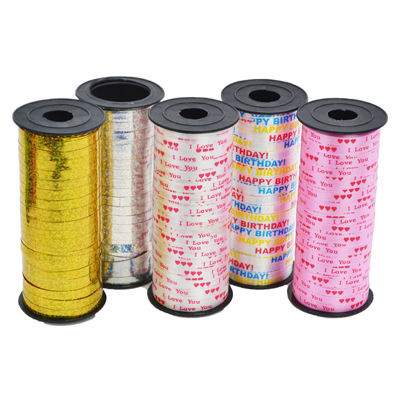 Details about  /100 Yard Balloons Ribbons Tail Crimped Curling Ribbon Birthday Party Decor