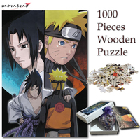 MOMEMO Naruto and Sasuke Puzzle 1000 Pieces Cartoon Anime Jigsaw Puzzles for Adults NARUTO 1000 Pieces Puzzle Games for Children