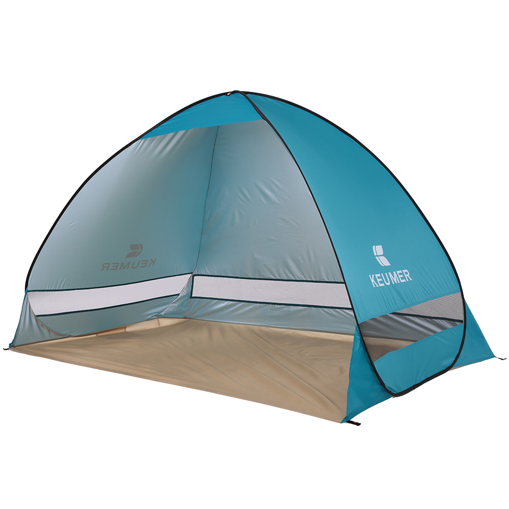 200*120*130cm Outdoor Camping Tent For Fishing Hiking Instant Pop-up Portable Beach Tent Folding Picnic Tent Protective Shelter