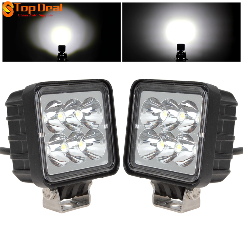 ФОТО Sales 3 Inch 18W Work Led Light Bar Flood  Beam for Motorcycle Tractor Boat 4WD Offroad SUV ATV 1530LM 12V 24V