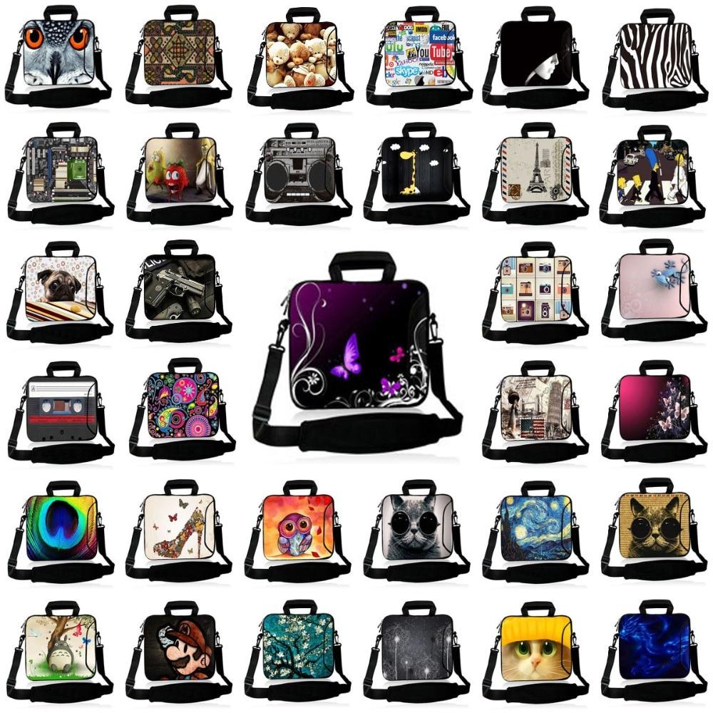 Universal print Laptop Notebook Shoulder Bag Case 10 11.6 12 13.3 14...