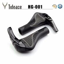 1 пара MTB Горный/Шоссейный велосипед велосипедный замок-на сплав резиновый руль Крышка Ручка Бар Конец велосипедные ручки для велосипедных частей