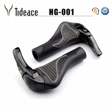 1 pair MTB Mountain/road Bike Bicycle lock-on alloy Rubber H
