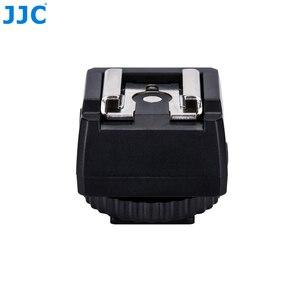 Image 5 - JJC Flash adaptateur de chaussure chaude avec prise femelle PC 3.5mm prise 1/4 20 trépied chaussette chaussures froides monter pour Portable Speedlight