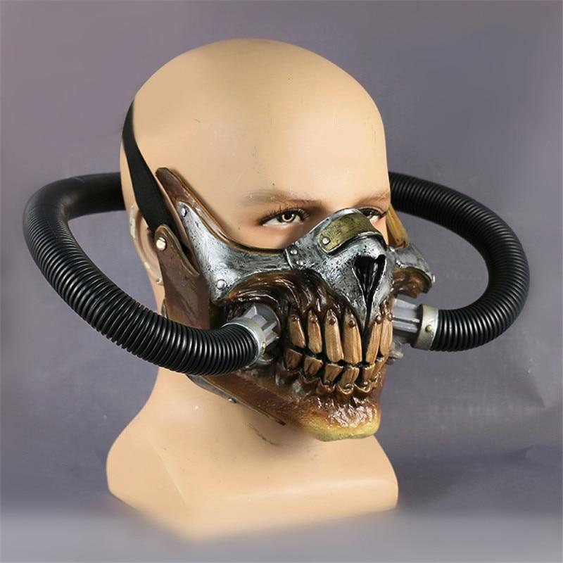 Takerlama Movie Mad Max Mask Helmet Punk Mask Skeleton Mask Halloween Devil Props Cosplay PVC Accessory Mask маска skeleton mask