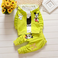 EMS DHL Free Shipping 3pc NEW Autumn Outfit Baby Girls Boys Clothes Children S Clothing Hoodie
