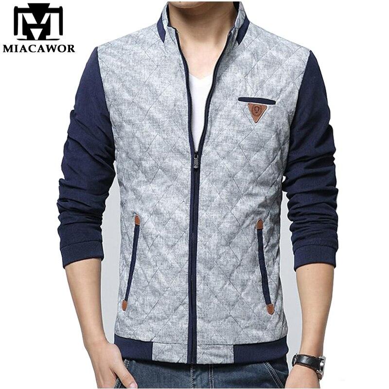 2017 New European style Men Jacket Autumn Winter Fashion Jaqueta ...