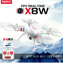 Quadcopter RC Télécommande Hélicoptère SYMA X8W 6-Axis Drones Avec Caméra HD WIFI Ou Sans Caméra Pour Enfant Chirtsmas Cadeau
