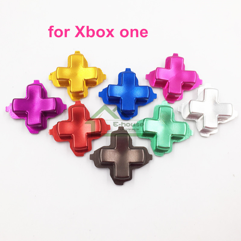 30pcs Aluminum Alloy D Pad Dpad D pad Key Button Replacement for Xbox one Controller Metal