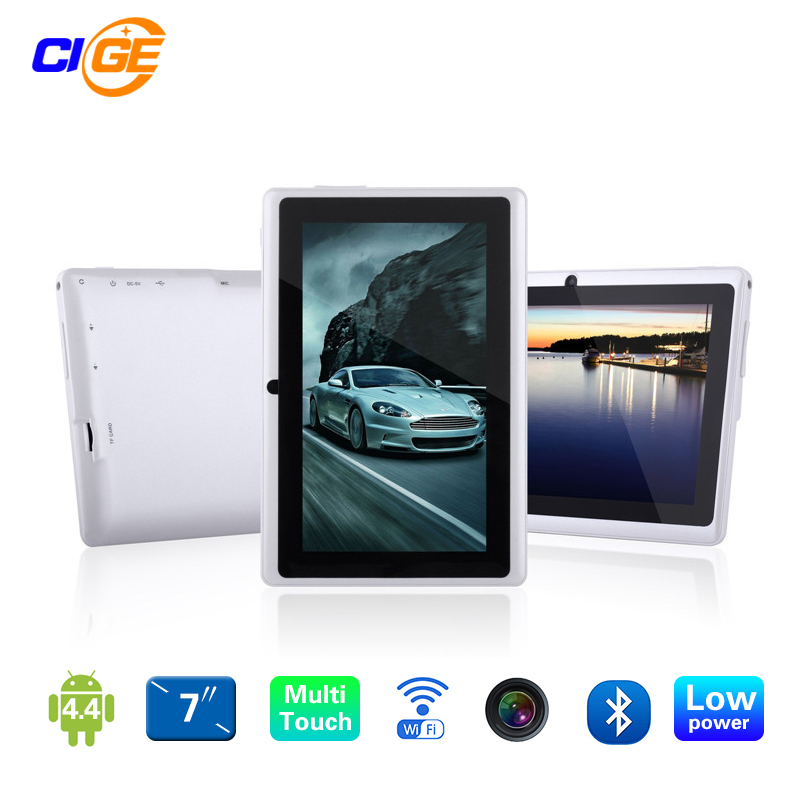 7inch Quad core android 4.4 kids tablet pc Q8 Q88 flashlight allwinner  512M 8GB bluetooth HD 1024*600 tablets dual camera wifi yuntab 7 inch q88 allwinner a33 quad core 512mb 8gb android 4 4 kids tablet pc hd screen dual camera