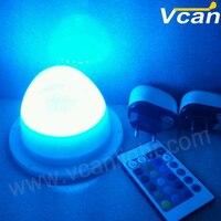 6 PCS DHL frete grátis SMD5050 RGBW impermeável móveis de fonte de iluminação