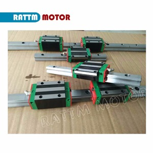 Image 3 - [EU STOCK] Square 20mm L 400/1000/1500mm Linear Rail Guide & 3x Ballscrew SFU2005 with Nut& 3 Set BK/B15 + 8*12 30*35 Coupling