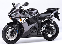 High Quality ABS Plastic For Yamaha YZF 600 R6 YZFR6 2003 2004 2005 03 04 05 Moto Custom Made Motorcycle Fairing Kit Black L566