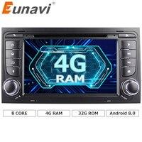 Eunavi 7 Octa 8 Core 2 Din Android 8 0 1024 600 Car DVD Radio Stereo