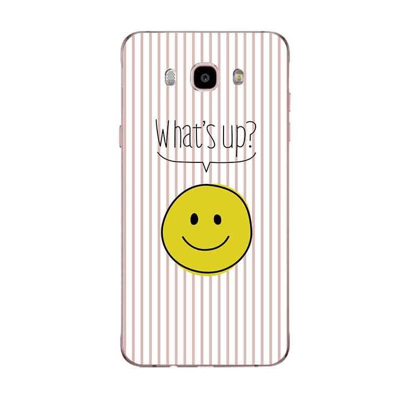 ابتسامة الكرتون الأناناس القط الأزرق الوردي لينة الهاتف بولي TPU حقيبة لهاتف سامسونج A5 J3 J5 J7 J1 J2 S6 S7 S8 S8plus نوت 8 c5 c7 c9 S9 C153