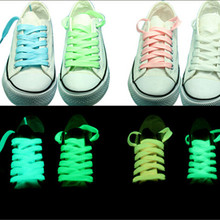 100pair/lots Luminous Shoelace in dark Glowing Led Shoes Strings Party Shoelaces For Growing Shoes Canvas Athletic Shoes   led luminous graffiti athletic shoes