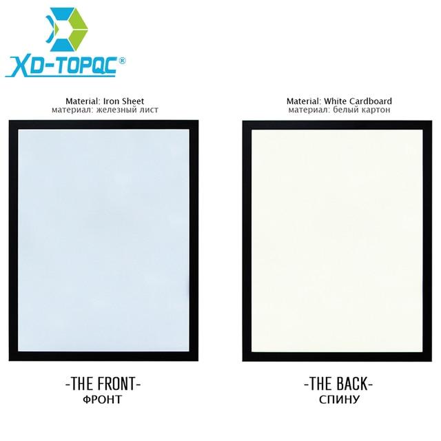 Nuevo precio Xindi 30*40 cm 10 colores MDF magnética Pizarras madera ...