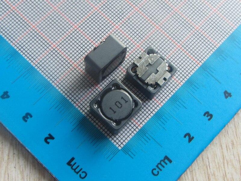 Free Shipping 50pcs 101 CDRH127R SMD Shielded Inductors Power Inductors 12*12*7MM 100uh Power Inductor 101 CDRH127R