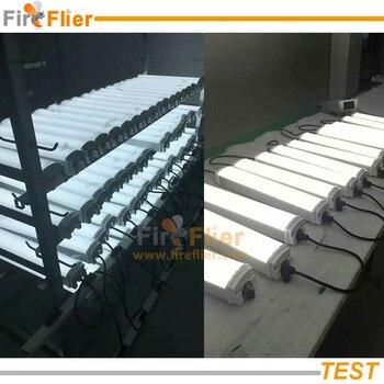LED T5 Birne   6 Stücke 2ft 4ft 5ft IP65 Tri-beweis Fluoreszierende Leuchte 20 Watt 30 Watt 40 Watt 50 Watt 60 Watt 80 Watt Traditionellen T5/T8 Lampe Ersetzen Led Rohre