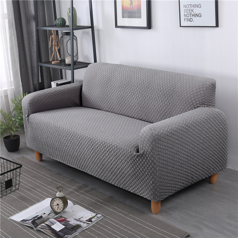 Awesome Us 5 49 40 Off Thick Knitting Sofa Covers Elastic Sofa Cover For Living Room Non Slip All Inclusive Stretch Couch Cover Copridivano Funda Sofa In Ibusinesslaw Wood Chair Design Ideas Ibusinesslaworg