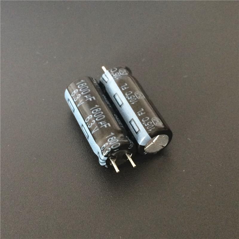 10pcs 1800uF 6.3V FL Series 8x20mm Original Low ESR 6.3V1800uF Motherboard Capacitor