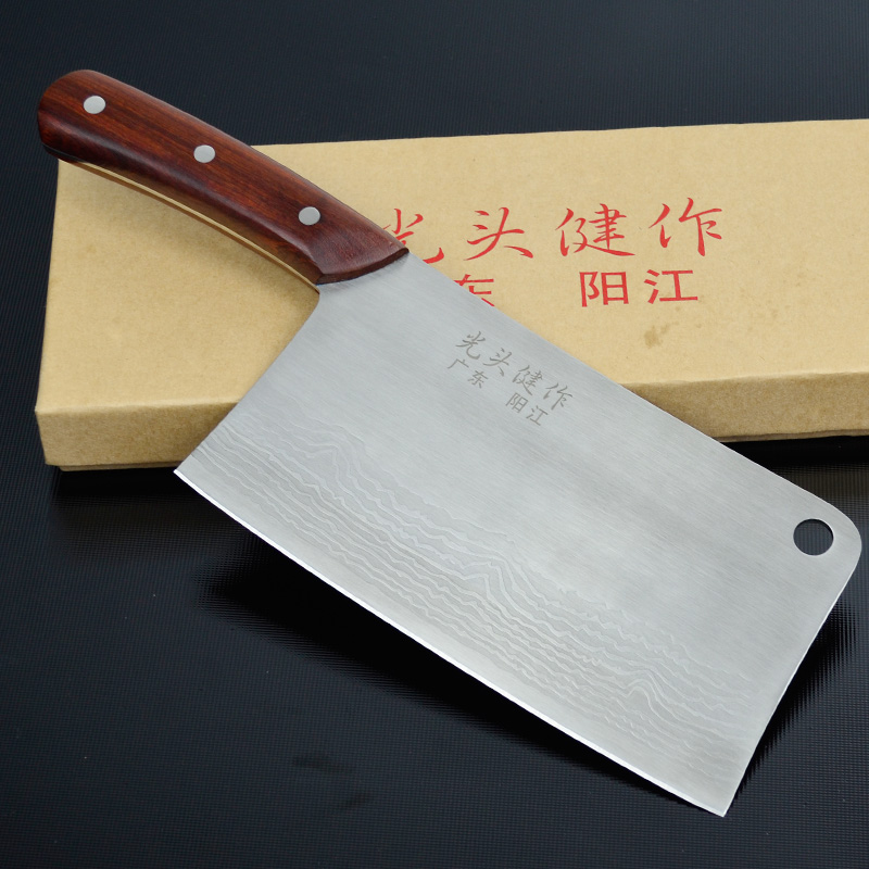 German Quality Kitchen font b knives b font household cooking tools slicing cutting meat sang font